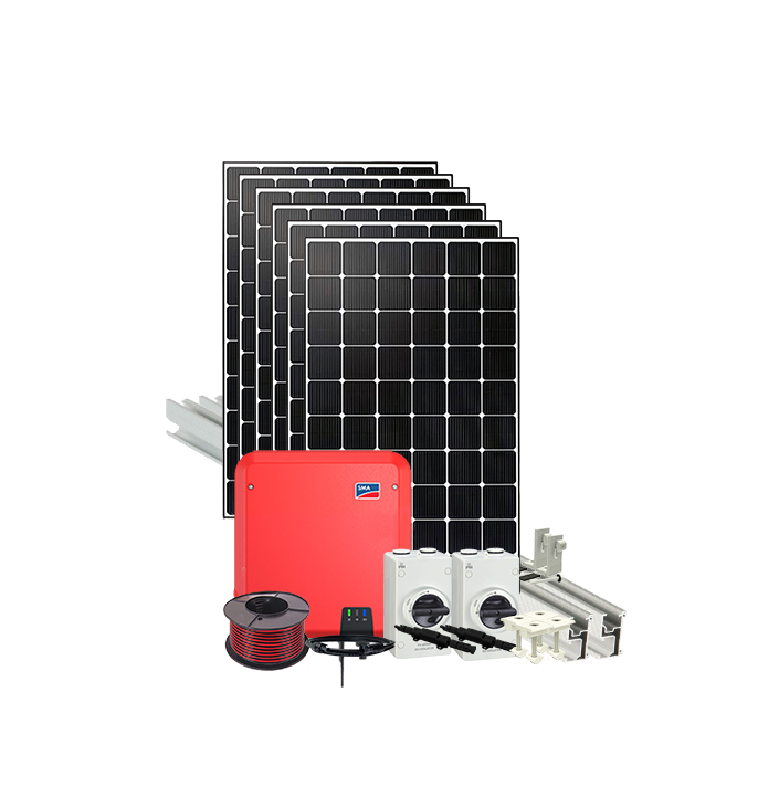4kw Grid Connect Solar System Tin Roof Sola Mart