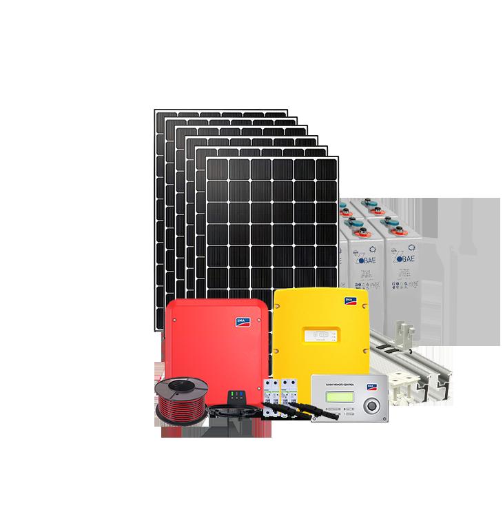 10kw H Off Grid Solar System Ac Coupled 48v 4 6kw Inverter