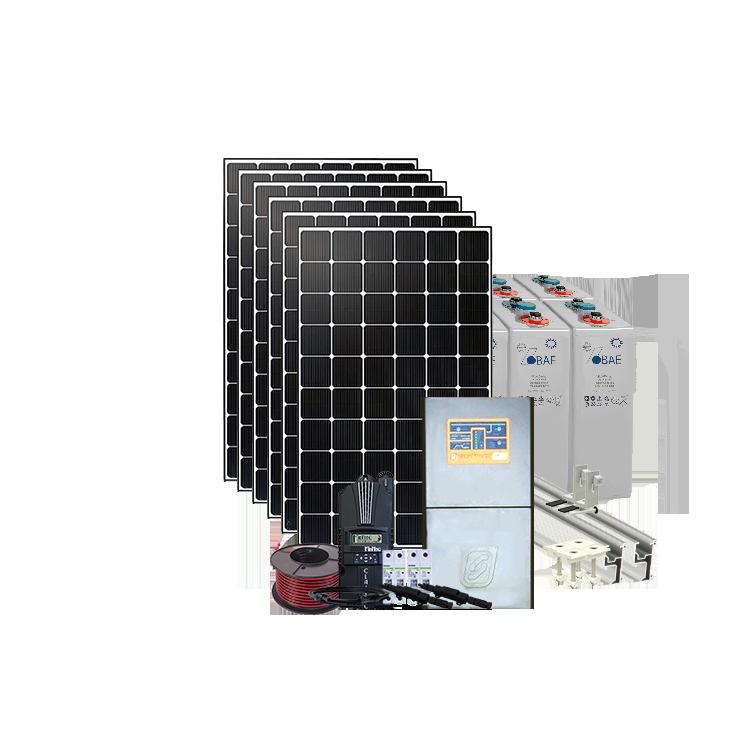 6kw H Off Grid Solar System Dc Coupled 24v 4 5kw Inverter