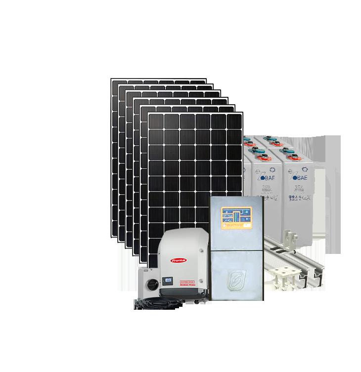 8kw H Off Grid Solar System Ac Coupled 24v 4 5kw Inverter