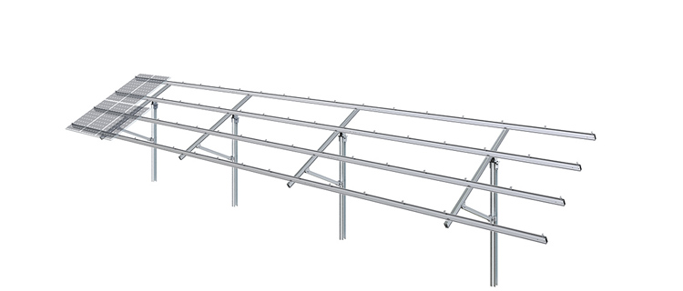clenergy solar system ground mount 150 panels